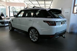 2018 Land Rover Range Rover Sport L494 19MY SE White 8 Speed Sports Automatic Wagon