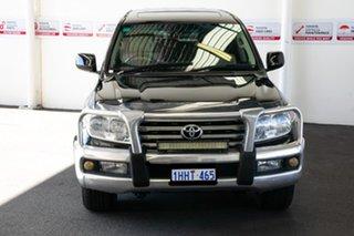 2008 Toyota Landcruiser UZJ200R Sahara (4x4) Ebony 5 Speed Automatic Wagon