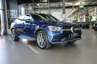 2019 Mercedes-Benz GLC-Class C253 800MY GLC300 Coupe 9G-Tronic 4MATIC Blue 9 Speed Sports Automatic