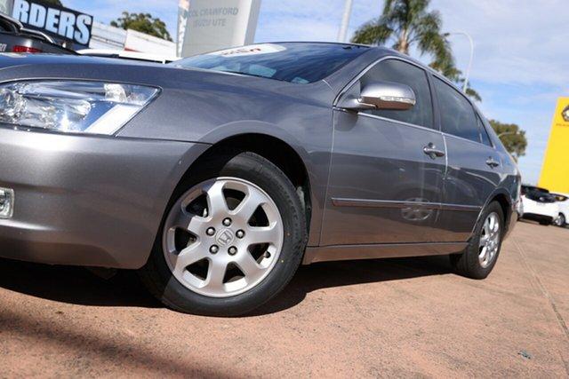 Used Honda Accord 40 V6 Luxury Brookvale, 2005 Honda Accord 40 V6 Luxury Silver 5 Speed Automatic Sedan