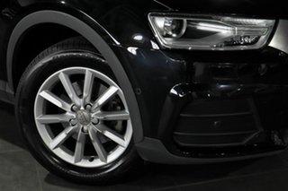 2016 Audi Q3 8U MY17 TDI S Tronic Quattro Black 7 Speed Sports Automatic Dual Clutch Wagon.