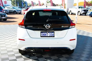 2021 Nissan Leaf ZE1 e+ Arctic White 1 Speed Reduction Gear Hatchback.