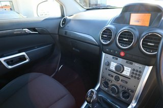 2012 Holden Captiva CG Series II 5 White 6 Speed Manual Wagon
