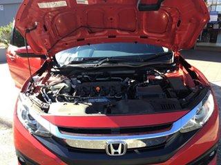 2018 Honda Civic 10th Gen MY18 VTi-S Rally Red 1 Speed Constant Variable Sedan