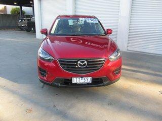 2016 Mazda CX-5 KE1032 Grand Touring SKYACTIV-Drive AWD Red 6 Speed Sports Automatic Wagon.