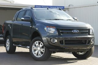 2015 Ford Ranger PX Wildtrak Double Cab Grey 6 Speed Sports Automatic Utility.
