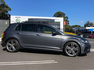2017 Volkswagen Golf 7.5 MY18 110TDI DSG Highline Grey 7 Speed Sports Automatic Dual Clutch.