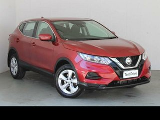 2019 Nissan Qashqai J11 MY18 ST Red Continuous Variable Wagon.