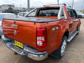 2014 Holden Colorado RG MY14 LTZ Crew Cab Orange Rock 6 Speed Sports Automatic Utility.