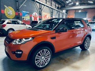 2016 Land Rover Discovery Sport L550 17MY HSE Orange 9 Speed Sports Automatic Wagon