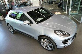 2016 Porsche Macan 95B MY17 S PDK AWD Diesel Silver 7 Speed Sports Automatic Dual Clutch Wagon