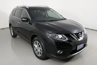 2015 Nissan X-Trail T32 TI (4x4) Black Continuous Variable Wagon