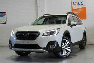 2019 Subaru Outback B6A MY19 2.5i CVT AWD Premium White 7 Speed Constant Variable Wagon