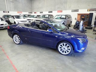2008 Ford Focus LV Coupe-Cabriolet Electric Blue 4 Speed Automatic Cabriolet