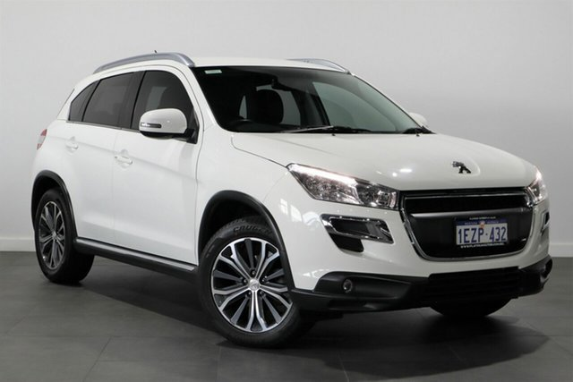 Used Peugeot 4008 MY15 Active 2WD Bayswater, 2016 Peugeot 4008 MY15 Active 2WD White 6 Speed Constant Variable Wagon