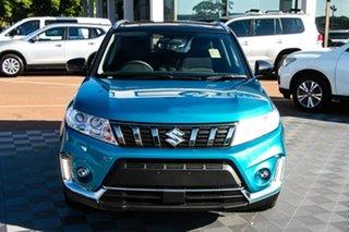 2021 Suzuki Vitara LY Series II 2WD Turquoise/Black Roof 6 Speed Sports Automatic Wagon.