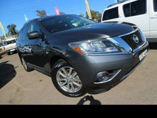 2014 Nissan Pathfinder R52 ST (4x2) Grey Continuous Variable Wagon.