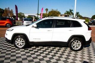 2015 Jeep Cherokee KL MY15 Longitude White 9 Speed Sports Automatic Wagon