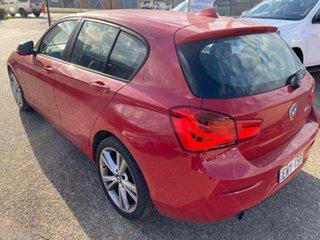 2015 BMW 1 Series F20 LCI 120i Steptronic Sport Line Crimson Red 8 Speed Sports Automatic Hatchback.