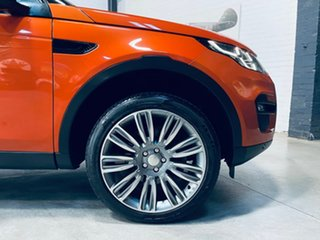 2016 Land Rover Discovery Sport L550 17MY HSE Orange 9 Speed Sports Automatic Wagon.