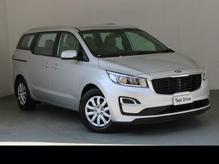 2018 Kia Carnival YP MY18 S Silver 6 Speed Automatic Wagon.