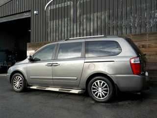 2010 Kia Grand Carnival VQ MY11 SLi Silver 6 Speed Sports Automatic Wagon