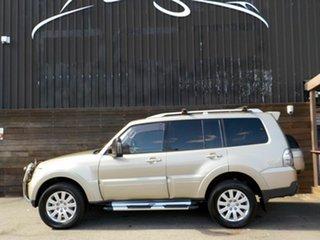 2007 Mitsubishi Pajero NS Exceed Gold 5 Speed Sports Automatic Wagon