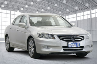 2011 Honda Accord 8th Gen MY10 VTi-L Silver 5 Speed Sports Automatic Sedan.