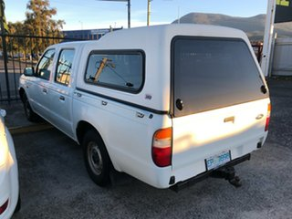 2002 Ford Courier PE GL 4x2 White 5 Speed Manual Cab Chassis.