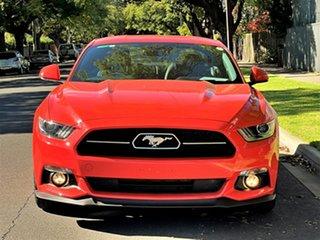 2016 Ford Mustang FM GT Fastback Orange 6 Speed Manual Fastback.
