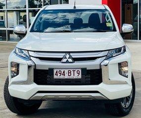 2021 Mitsubishi Triton MR MY21 GLX-R Double Cab White 6 Speed Manual Utility