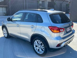 2018 Mitsubishi ASX XC MY19 ES 2WD Silver 1 Speed Constant Variable Wagon