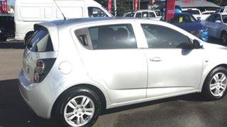 2013 Holden Barina TM MY13 CD Silver 5 Speed Manual Hatchback.