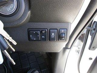 2012 Nissan Navara D40 S6 MY12 RX White 6 Speed Manual Utility
