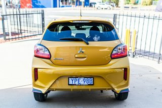 2021 Mitsubishi Mirage LB MY22 LS Sand Yellow 1 Speed Constant Variable Hatchback