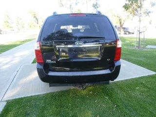 2007 Kia Grand Carnival VQ EX Black Sports Automatic Wagon