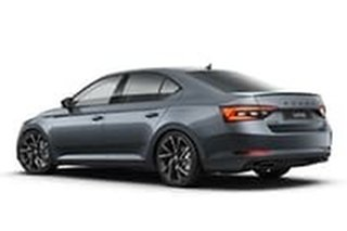 2020 Skoda Superb NP MY21 206TSI Sedan DSG SportLine Quartz Grey 6 Speed.