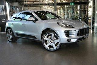 2016 Porsche Macan 95B MY17 S PDK AWD Diesel Silver 7 Speed Sports Automatic Dual Clutch Wagon.