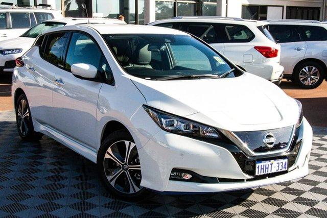 Demo Nissan Leaf ZE1 e+ Melville, 2021 Nissan Leaf ZE1 e+ Arctic White 1 Speed Reduction Gear Hatchback