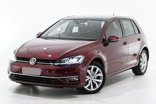 2019 Volkswagen Golf 7.5 MY20 110TSI DSG Highline Red 7 Speed Sports Automatic Dual Clutch Hatchback.