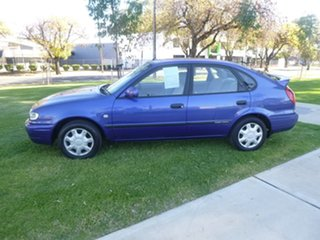 2001 Toyota Corolla AE112R Ascent Blue Automatic Liftback
