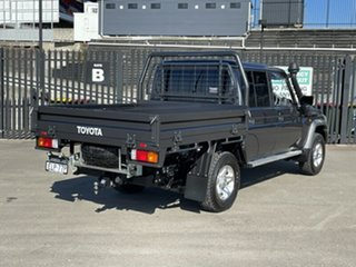 2020 Toyota Landcruiser VDJ79R GXL Double Cab Grey 5 Speed Manual Cab Chassis