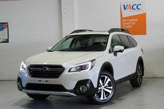 2019 Subaru Outback B6A MY19 2.5i CVT AWD Premium White 7 Speed Constant Variable Wagon.