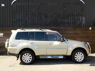 2007 Mitsubishi Pajero NS Exceed Gold 5 Speed Sports Automatic Wagon.