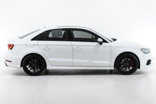 2016 Audi S3 8V MY16 S Tronic Quattro White 6 Speed Sports Automatic Dual Clutch Sedan