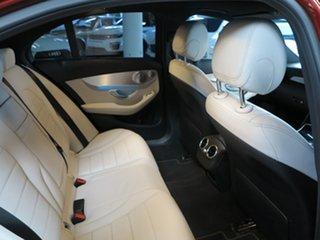 2015 Mercedes-Benz C-Class W205 C250 7G-Tronic + Red 7 Speed Sports Automatic Sedan