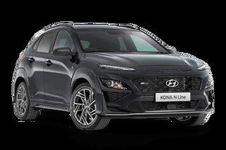 2021 Hyundai Kona OS.V4 N Line Dark Knight 7 Speed Automatic SUV