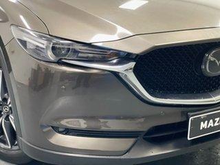 2017 Mazda CX-5 KF4WLA Akera SKYACTIV-Drive i-ACTIV AWD Brown 6 Speed Sports Automatic Wagon.