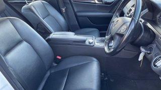 2010 Mercedes-Benz C220 W204 CDI Classic White 5 Speed Auto Tipshift Sedan