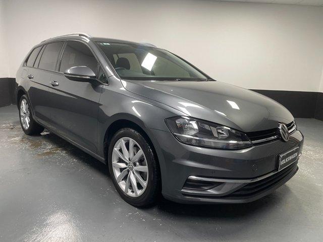 Used Volkswagen Golf 7.5 MY18 110TSI DSG Comfortline Rutherford, 2018 Volkswagen Golf 7.5 MY18 110TSI DSG Comfortline Indium Grey 7 Speed